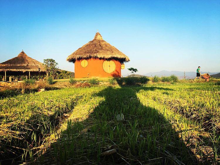 Mala Dhara Yoga Retreat Center and Organic Farm Jai Dee Earthen Villa