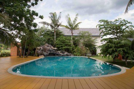 Saltwater pool at Mala Dhara Resort Chiang