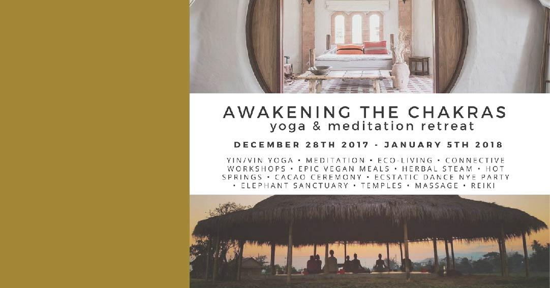 Awakening the Chakaras Yoga Retreat with East Meets West Retreats
