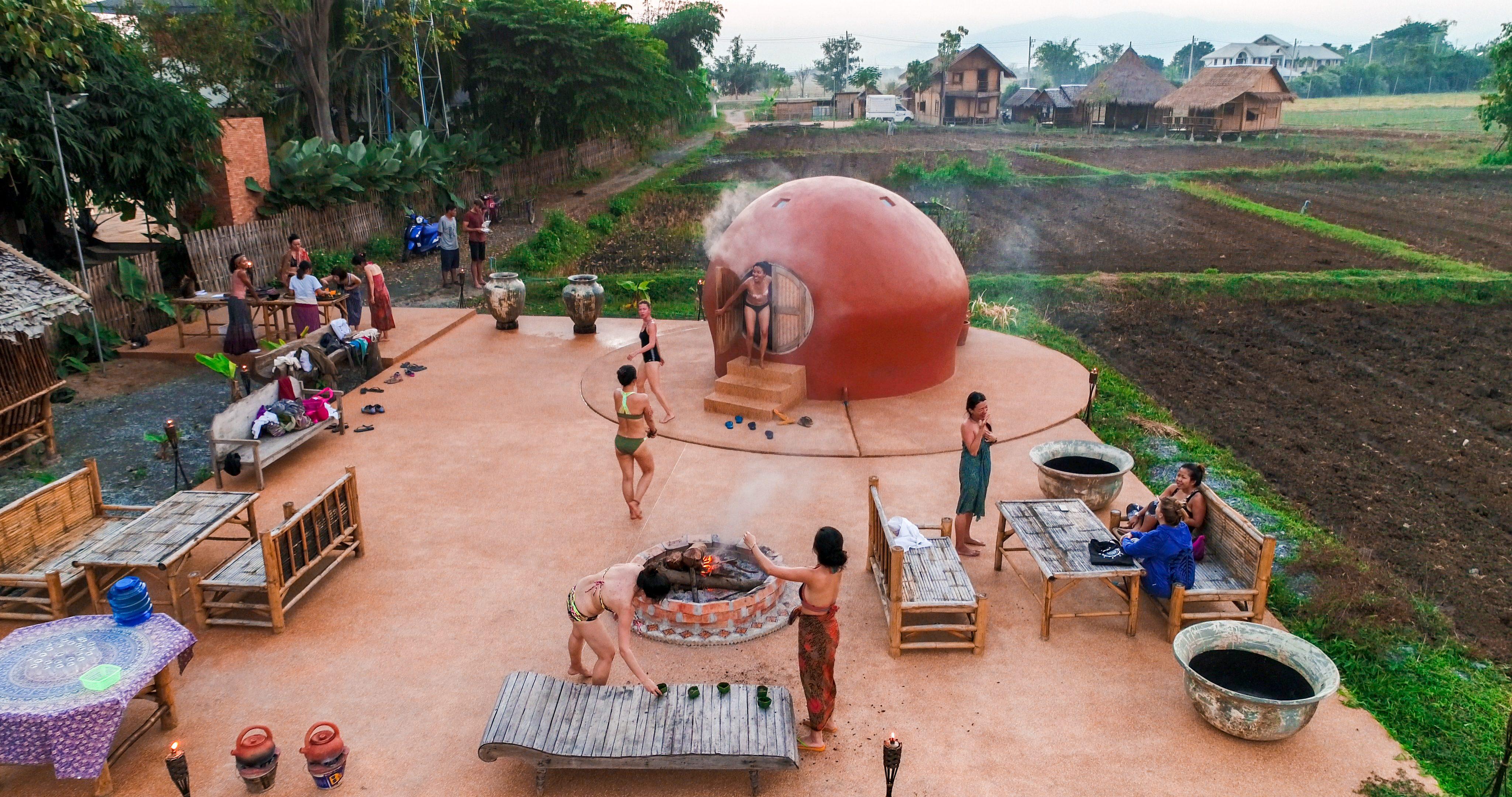 Mala Dhara Herbals Steam Sauna Chiang Mai