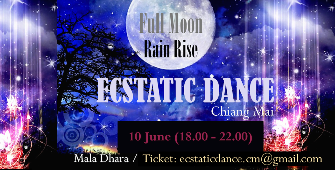 Ecstatic Dance and Steam Night at Mala Dhara Yoga Retreat Center Chiang Mai Thailand