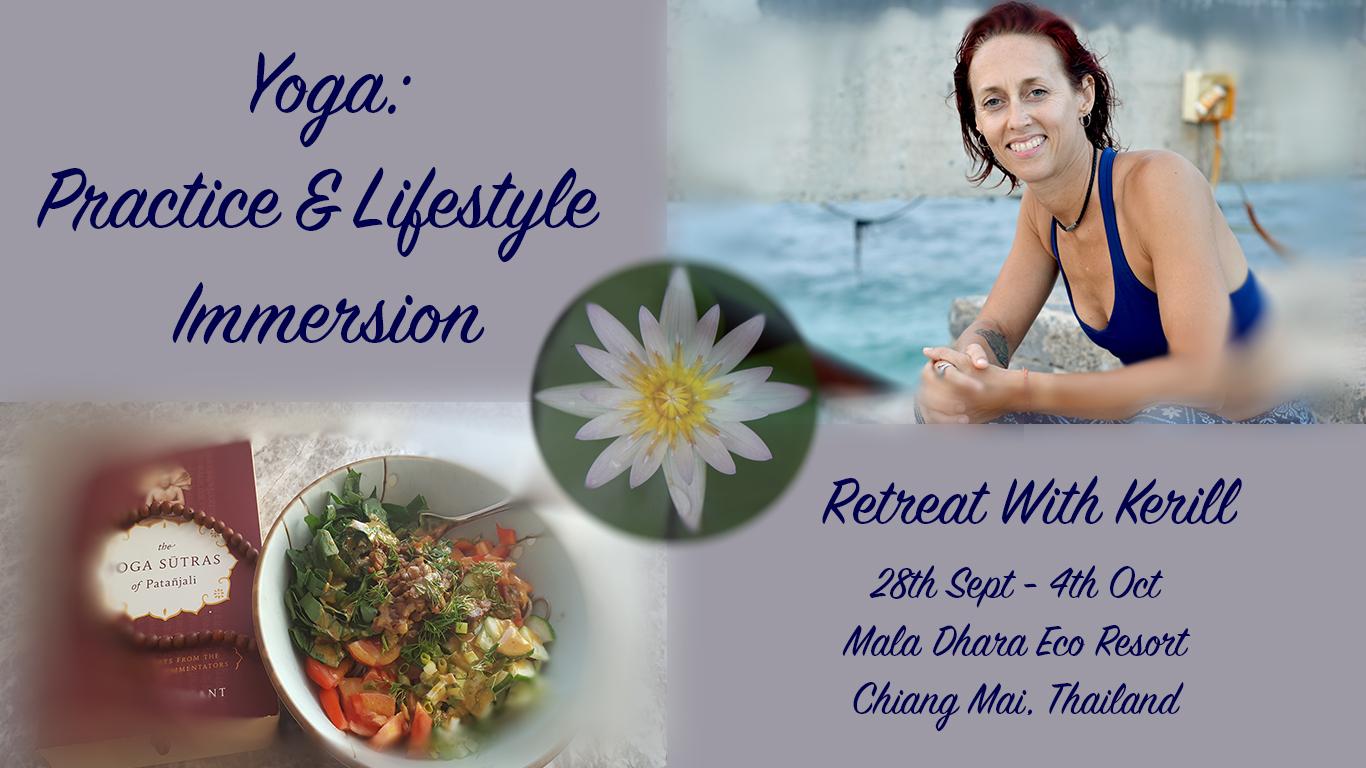 Information for Kerill Yoga Retreat at Chiang Mai Mala Dhara