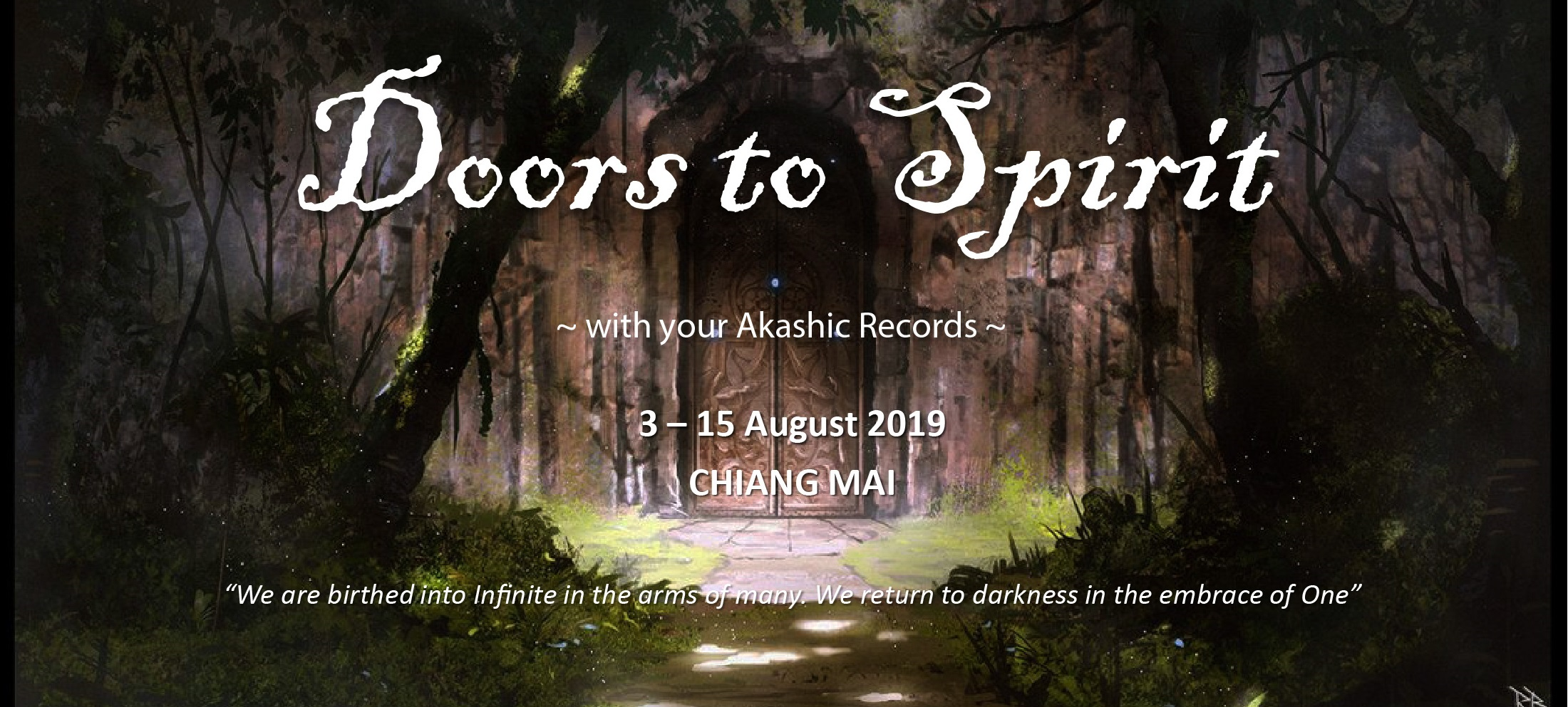 Join Calista Goh in Chiang Mai Thailand for an Akashic Records Retreat
