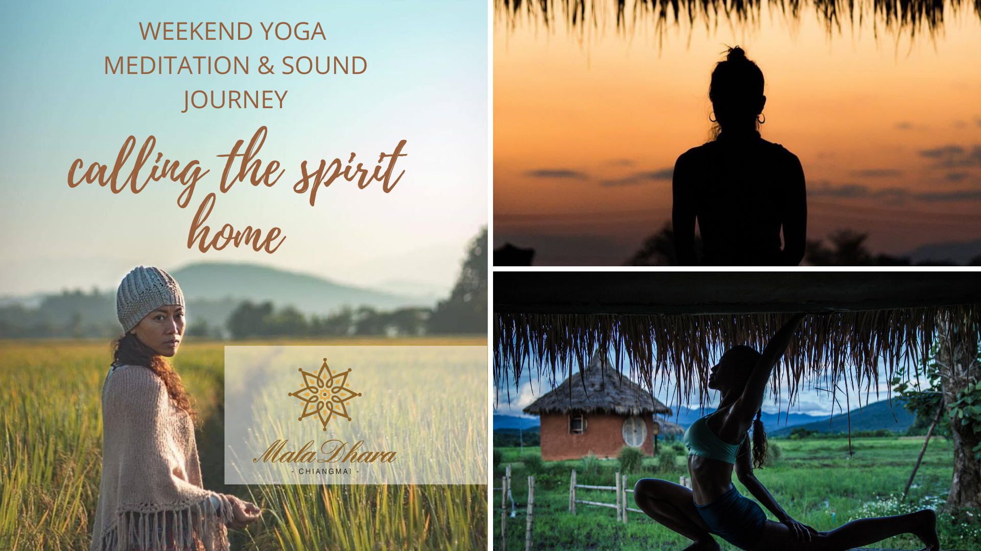 Calling the Spirit Home Weekend Yoga Meditation & Sound Journey